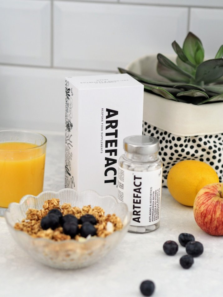Artefact vegan anti ageing food suppliment